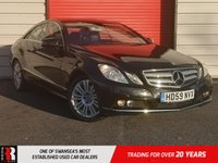 USED 2009 59 MERCEDES-BENZ E CLASS 3.0 E350 CDI BLUEEFFICIENCY SE 2d 231 BHP EXCELLENT VALUE FOR MONEY