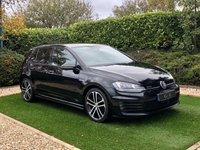 USED 2015 15 VOLKSWAGEN GOLF 2.0 GTD DSG 5d 182 BHP Presented in Deep Black Pearl with 18 Inch Nogaro Alloy Wheels and Distinctive Grey Tartan Sport Seats. Features Include Satellite Navigation + Bluetooth Connectivity + DAB Radio, Front and Rear Parking Sensors, Air Conditioning, Climate Control, Radio, CD & AUX, Heated Mirrors, Power Folding Wing Mirrors, Leather Multi Function Sports Steering Wheel, Isofix Anchorage Points, LED Daytime Running Lights, Chrome Dual Tailpipes, Side Skirts, Rear Diffuser, Sports Suspension and a Large Roof Spoiler