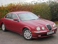 USED 2002 52 JAGUAR S-TYPE 2.5 V6 SE 4d LOW MILEAGE AND 11 SERVICE STAMPS