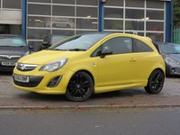 USED 2013 63 VAUXHALL CORSA 1.2 LIMITED EDITION 3d 83 BHP