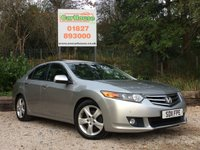 USED 2011 11 HONDA ACCORD 2.0 I-VTEC EX 4dr Sat Nav, Leather, Camera