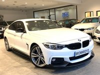 "USED 2018 18 BMW 4 SERIES GRAN COUPE 2.0 420I M SPORT GRAN COUPE 4d 181 BHP ++BM PERF KIT+NAV+19""ALLOY++"