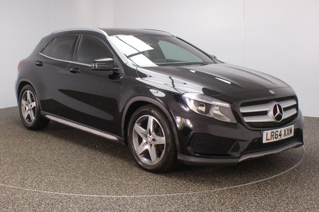 USED 2014 64 MERCEDES-BENZ GLA-CLASS 2.1 GLA200 CDI AMG LINE 5DR SAT NAV LEATHER SEATS 136 BHP FULL SERVICE HISTORY + £30 12 MONTHS ROAD TAX + LEATHER SEATS + SATELLITE NAVIGATION + REVERSE CAMERA + BLUETOOTH + MULTI FUNCTION WHEEL + AIR CONDITIONING + PRIVACY GLASS + DAB RADIO + ELECTRIC WINDOWS + ELECTRIC MIRRORS + 18 INCH ALLOY WHEELS