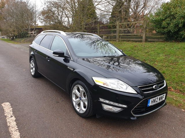 USED 2012 12 FORD MONDEO 2.2 TITANIUM TDCI 5d 197 BHP **LONG MOT**FULL SERVICE HISTORY**LOTS OF FEATURES**