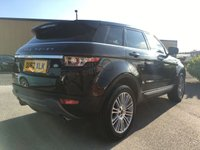 USED 2012 62 LAND ROVER RANGE ROVER EVOQUE 2.2 SD4 PRESTIGE 5d AUTO 190 BHP Great colour combo, Black leather, High spec,