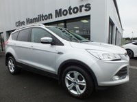 USED 2013 FORD KUGA 2.0 ZETEC AWD TDCI 4X4 Towbar 1 lady owner fsh