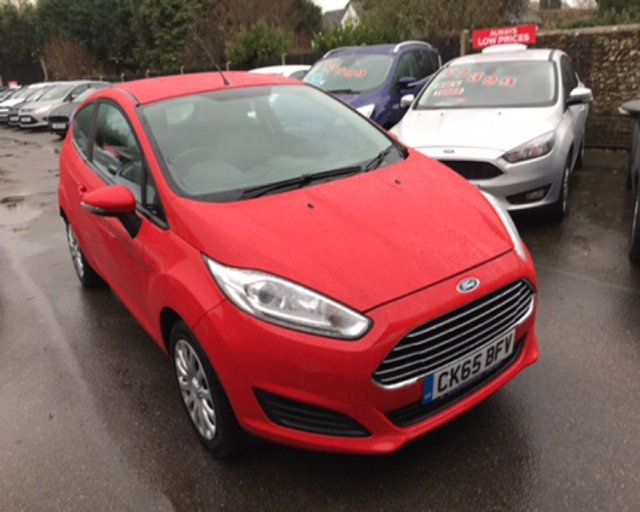 2015 65 FORD FIESTA 1.25 STYLE 3dr