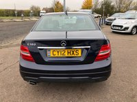 USED 2012 12 MERCEDES-BENZ C-CLASS 1.8 C180 BLUEEFFICIENCY SPORT 4d 155 BHP
