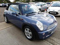 2006 MINI CONVERTIBLE 1.6L ONE 2d 89 BHP £3250.00