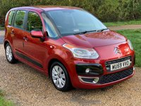 USED 2009 59 CITROEN C3 PICASSO 1.4 PICASSO VTR PLUS 5d 95 BHP F/S/H, LOW TAX, LOW MILEAGE