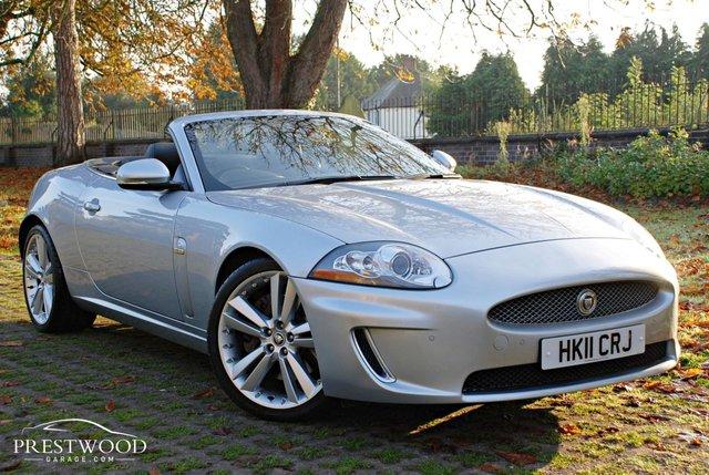 2011 11 JAGUAR XK 5.0 V8 PORTFOLIO AUTO CONVERTIBLE [385 BHP]