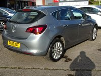 USED 2013 63 VAUXHALL ASTRA 1.6 ELITE 5d 115 BHP Leather Heated Seats, Cruise Control, Bluetooth Connection, 4X Service Stamps.