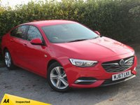 USED 2017 67 VAUXHALL INSIGNIA 1.5 GRAND SPORT DESIGN ECOTEC 5d  * ONE OWNER FROM NEW * ECONOMICAL LUXURY CAR *
