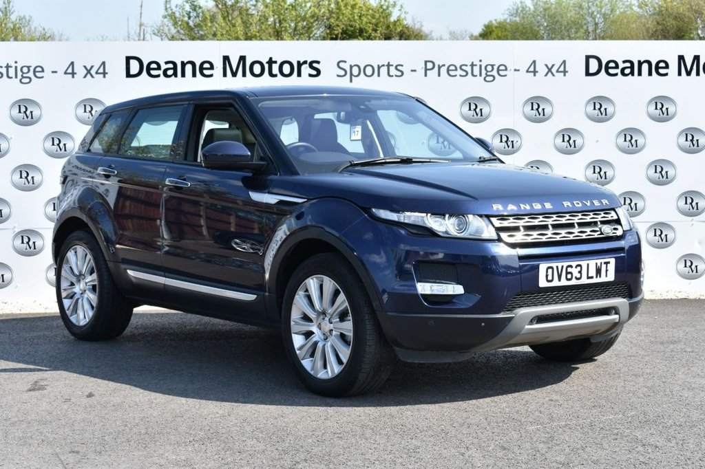 USED 2013 63 LAND ROVER RANGE ROVER EVOQUE 2.2 SD4 PRESTIGE LUX 5d 190 BHP PANROOF