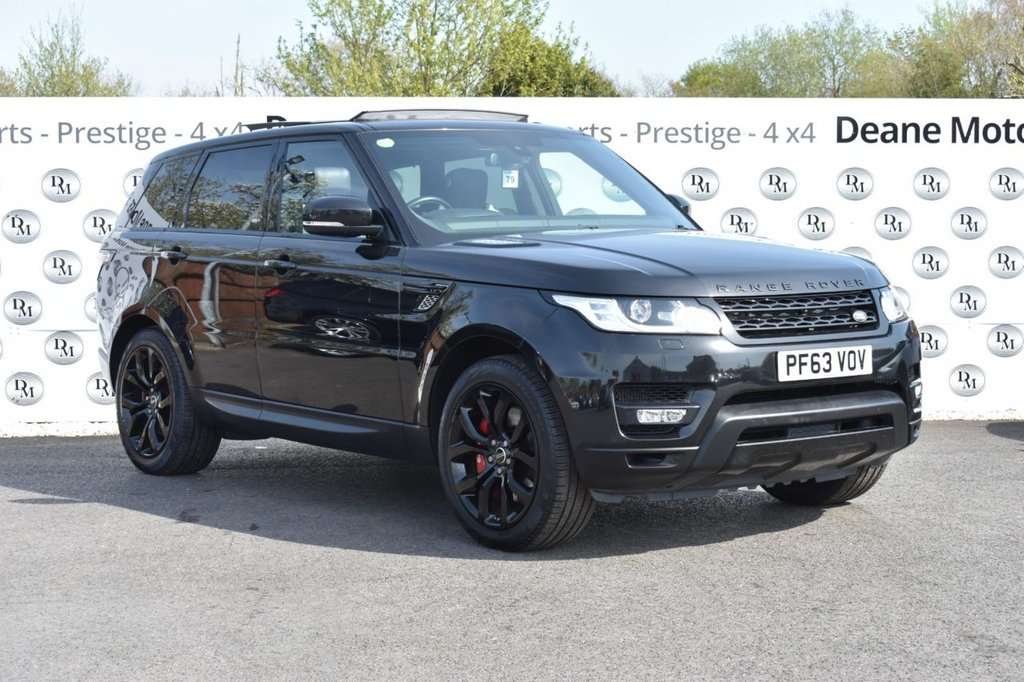 USED 2014 63 LAND ROVER RANGE ROVER SPORT 3.0 SDV6 AUTOBIOGRAPHY DYNAMIC 5d AUTO 288 BHP BLACK PACK