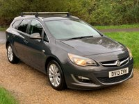 USED 2013 13 VAUXHALL ASTRA 1.6 SE 5d 113 BHP F/V/S/H, HALF LEATHER, H/FREE