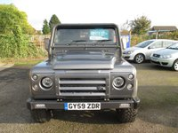 USED 2009 59 LAND ROVER DEFENDER 2.4 110 COUNTY HARD TOP 2d 122 BHP FULLY CARPETED LOAD AREA - SEE IMAGES