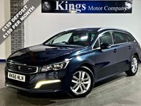 USED 2016 66 PEUGEOT 508 2.0 BLUE HDI S/S SW ACTIVE 5dr Estate Drive Away SAME DAY!! , NAV, New Model, £20 Tax, 72.4 MPG