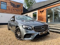 USED 2018 67 MERCEDES-BENZ E-CLASS 3.0 E 350 D 4MATIC AMG LINE PREMIUM PLUS 2d 255 BHP