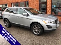 "USED 2010 60 VOLVO XC60 2.4 D5 SE LUX AWD 5DOOR AUTO 205 BHP DAB Radio   :   Satellite Navigation   :   USB & AUX    :   Cruise Control / Speed Limiter      Phone Bluetooth Connectivity   :   Climate Control / Air Conditioning   :   Heated Front Seats                      Electric Driver Seat   :   Black Leather Upholstery   :   Rear View Camera                  Front & Rear Parking Sensors   :   18"" Alloy Wheels   :   Comprehensive Service History"