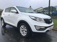 2014 KIA SPORTAGE 2.0 CRDI KX-2 AWD WHITE AUTO COMPARE OUR PRICE  £8795.00