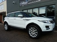 2014 LAND ROVER RANGE ROVER EVOQUE 2.2 ED4 PURE TECH 5d 150 BHP SOLD