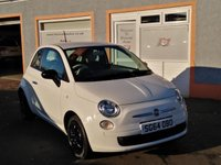 USED 2014 64 FIAT 500 1.2 POP 3d 69 BHP CD Player, MP3 ,City Steering, 3 Service Stamps