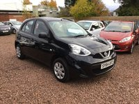 USED 2014 64 NISSAN MICRA 1.2 VISIA 5d 79 BHP LOW MILEAGE EXAMPLE WITH FOUR MAIN DEALER SERVICE STAMPS