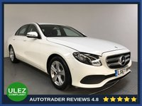 USED 2017 67 MERCEDES-BENZ E CLASS 2.0 E 220 D SE 4d AUTO 192 BHP SERVICE HISTORY - 1 OWNER - SAT NAV - LEATHER - CAMERA - PARKING SENSORS - AIR CON - BLUETOOTH - DAB - CRUISE