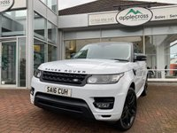 USED 2016 16 LAND ROVER RANGE ROVER SPORT 3.0 SDV6 HSE DYNAMIC 5d AUTO 306 BHP One Owner from new + Massive additional specification Including Panoramic Roof, Exterior Stealth Pack, a 22 Inch Wheel Upgrade, Exterior Colour coding and a Contrast Roof.