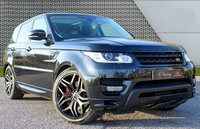 """USED 2015 V LAND ROVER RANGE ROVER SPORT 3.0 SDV6 AUTOBIOGRAPHY DYNAMIC 5d AUTO 288 BHP 22"""" ALLOYS/STEALTH PACK/FLRSH"""