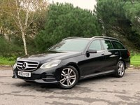 USED 2013 63 MERCEDES-BENZ E CLASS 2.1 E220 CDI SE 5d AUTO 168 BHP 2 OWNER NEW SHAPE ESTATE WITH FSH SAT NAV PARK CONTROL  LEATHER HATED SEATS