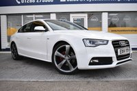 USED 2014 14 AUDI A5 2.0 SPORTBACK TDI S LINE 5d 177 BHP NO DEPOSIT FINANCE AVAILABLE