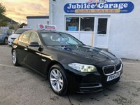 USED 2014 14 BMW 5 SERIES 2.0 520D SE 4d 181 BHP Great Spec, 12 Months MOT, £30 Annual tax!