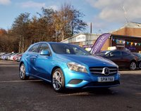 USED 2014 14 MERCEDES-BENZ A CLASS 1.5 A180 CDI BLUEEFFICIENCY SPORT 5d 109 BHP SERVICE RECORD +   HALF LEATHER *   17 INCH ALLOYS *  CLIMATE CONTROL *  BLUETOOTH *