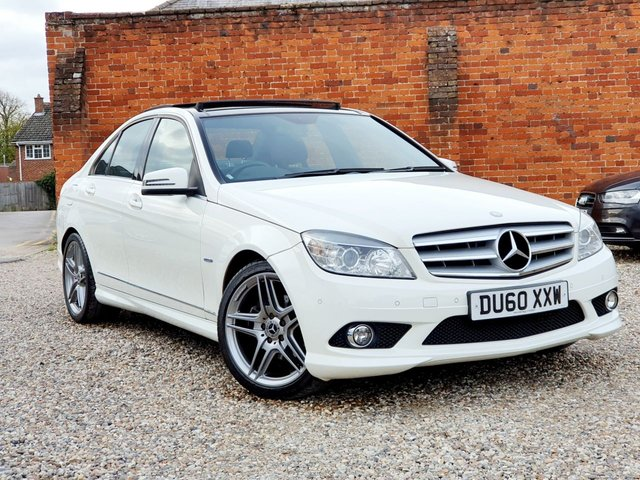 2010 60 MERCEDES-BENZ C-CLASS C220 CDI BLUEEFFICIENCY SPORT PAN ROOF & NAV