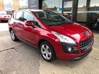 USED 2011 11 PEUGEOT 3008 1.6 SPORT HDI 5d AUTO 110 BHP Rear Sensors, Full Peugeot history, 2 keys