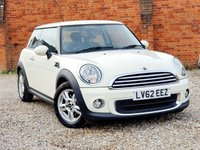 USED 2012 62 MINI HATCH ONE 1.6 ONE PEPPER PACK 1 OWNER