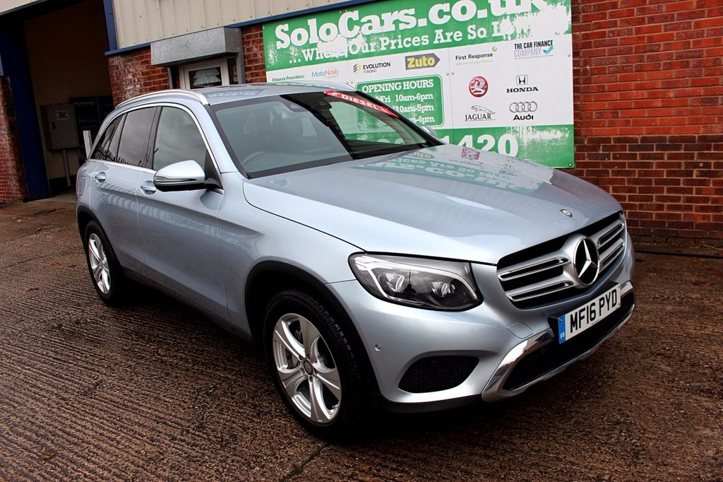 USED 2016 16 MERCEDES-BENZ GLC-CLASS 2.1 GLC 250 D 4MATIC SPORT 5d AUTO 201 BHP +ONE OWNER +AUTO +LEATHER +NAV