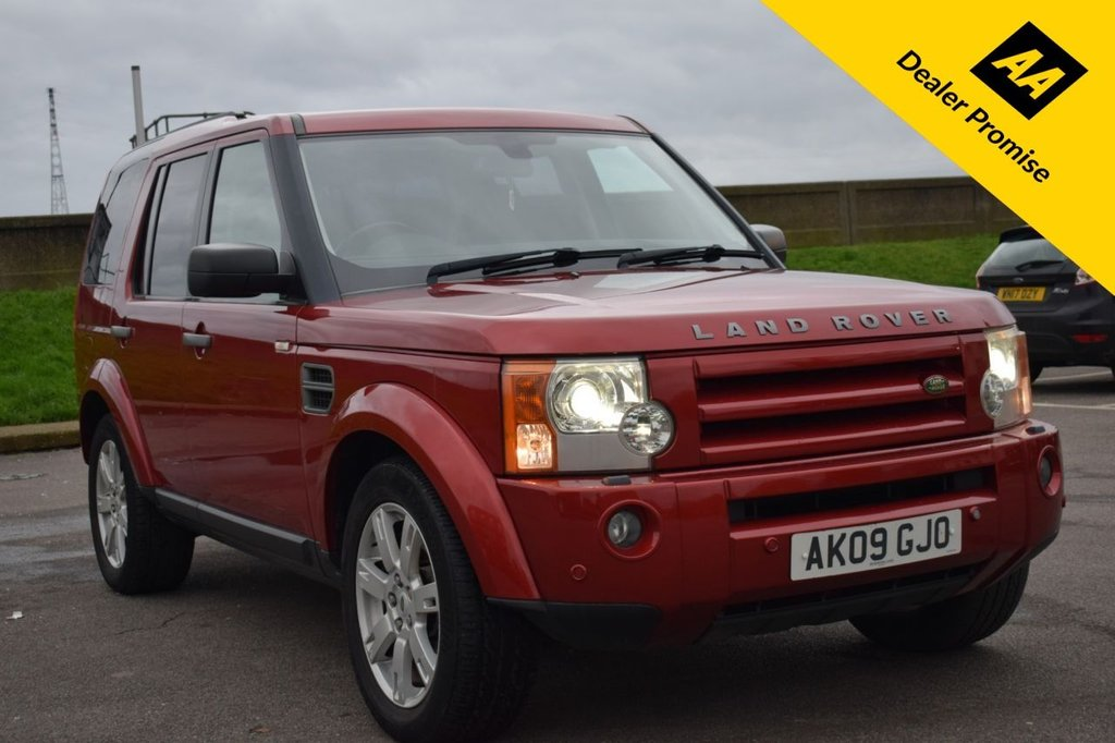 USED 2009 09 LAND ROVER DISCOVERY 2.7 3 TDV6 HSE 5d 188 BHP