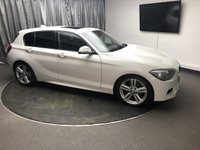 USED 2012 62 BMW 1 SERIES 2.0 118D M SPORT 5d AUTO 141 BHP FREE UK DELIVERY, AUTOMATIC HEADLIGHTS, AUX INPUT, BMW PROFESSIONAL, CLIMATE CONTROL, CRUISE CONTROL, DRIVE PERFORMANCE CONTROL, HEATED SEATS, START/STOP SYSTEM, STEERING WHEEL CONTROLS, TRIP COMPUTER, USB INPUT