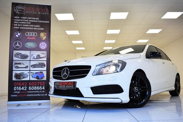 2013 62 MERCEDES-BENZ A CLASS A200 1.8 CDI BLUEEFFICIENCY AMG SPORT
