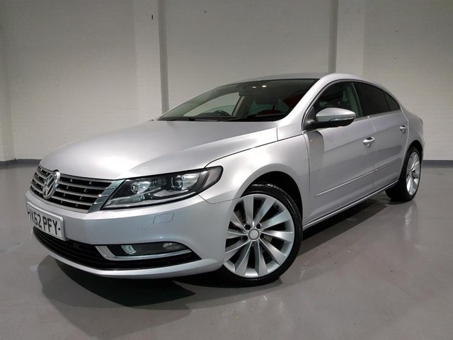 USED 2012 62 VOLKSWAGEN CC 2.0 GT TDI BLUEMOTION TECHNOLOGY 4d 138 BHP