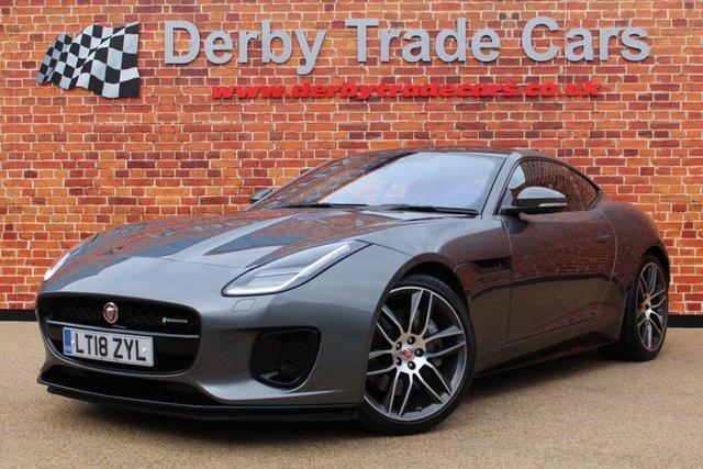 JAGUAR F-TYPE at Derby Trade Cars