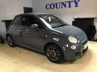 USED 2013 63 FIAT 500 1.2 S 3d 69 BHP * TWO OWNERS * FULL HISTORY *