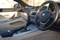 USED 2012 12 BMW 6 SERIES 3.0 640I SE 2d AUTO 316 BHP FULL SERVICE HISTORY! SPACE GREY! IVORY LEATHER! NAV!