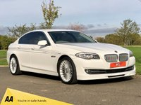 USED 2011 11 BMW 5 SERIES 2.0 520D SE 181 BHP FULL ALPINA BODY STYLING 4 DR SALOON +6 STAMPS+SAT NAV+LTHR+