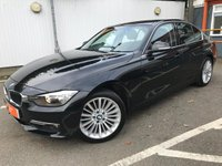USED 2013 63 BMW 3 SERIES 2.0 320I XDRIVE LUXURY 4d 181 BHP SAT NAV, LEATHER, ONE OWNER