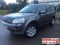 USED 2011 60 LAND ROVER FREELANDER 2 2.2 TD4 GS 5d 150 BHP FACELIFT HEATED SEATS STUNNING GREY MET WITH BEIGE CLOTH TRIM. HEATED SEATS. CRUISE CONTROL. 17 INCH ALLOYS. COLOUR CODED TRIMS. BLUETOOTH PREP. CLIMATE CONTROL WITH AIR CON. R/CD PLAYER. 6 SPEED MANUAL. MOT 11/20. SERVICE HISTORY. PRESTIGE SUV CENTRE LS23 7FR. TEL 01937 849492 OPTION 1