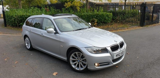 2012 12 BMW 3 SERIES 2.0 318D EXCLUSIVE EDITION TOURING 5d 141 BHP